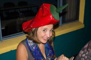 school hat party